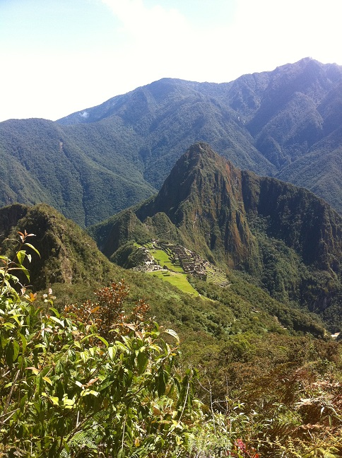 Hiking machu picchu 1