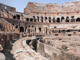 Coliseum inside view