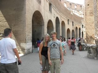 Colleseum with caleb