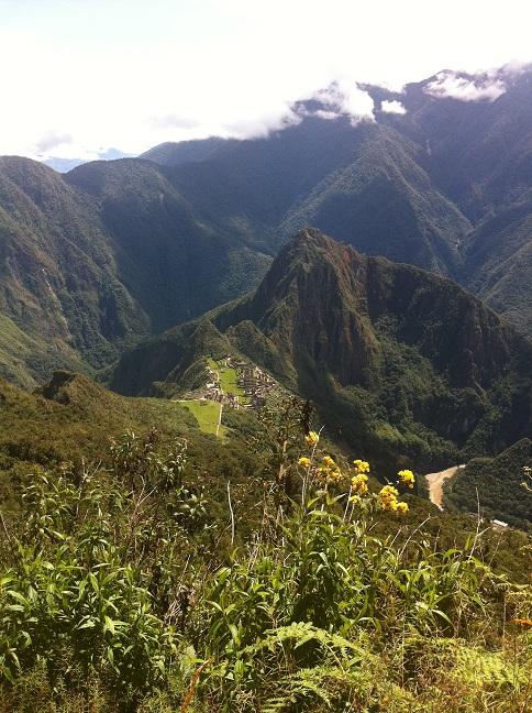 Hiking machu picchu 2